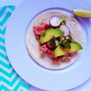 Hello Fresh Tuna Tartare Tacos