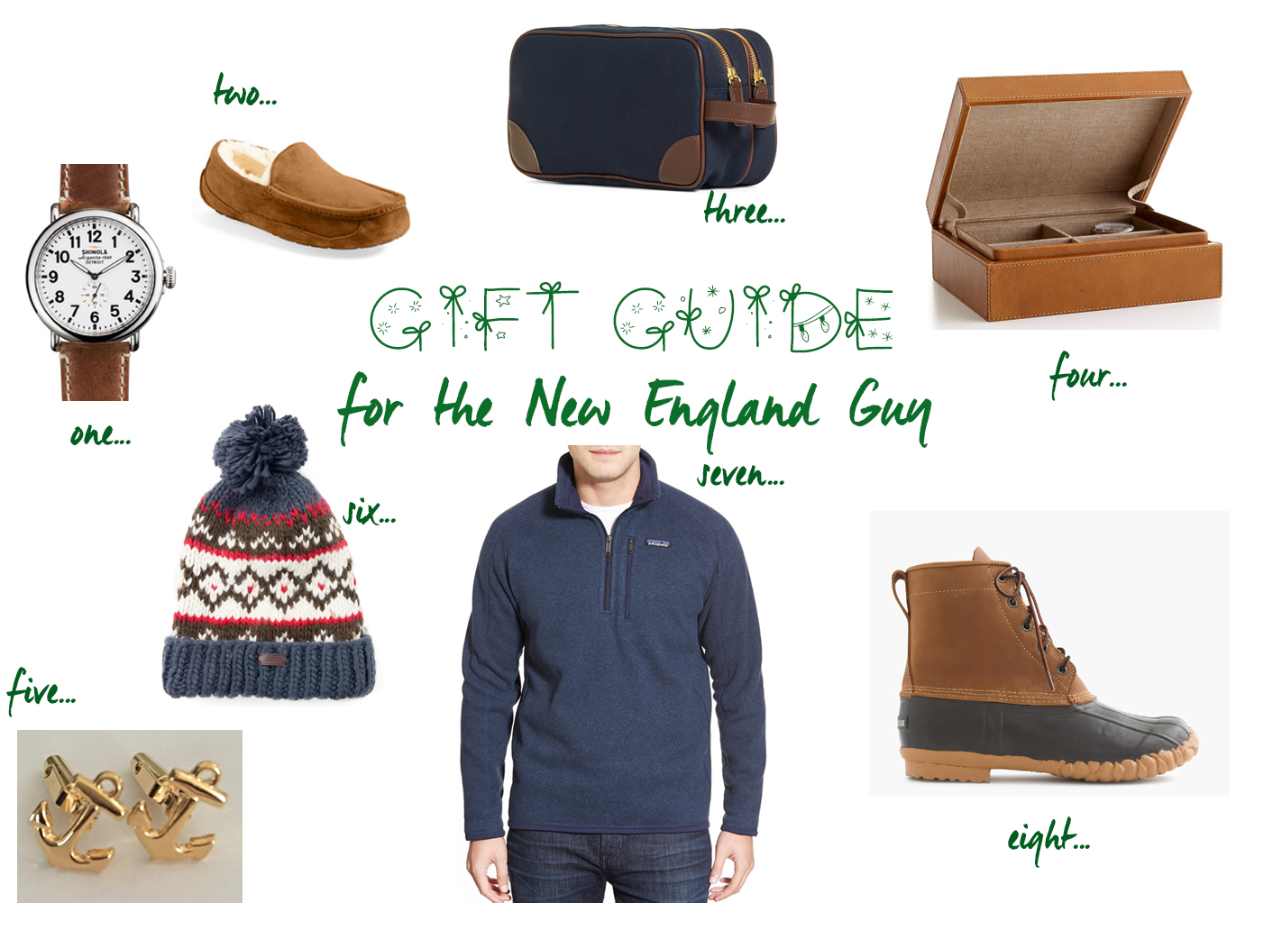 Gift Guide for The New England Guy