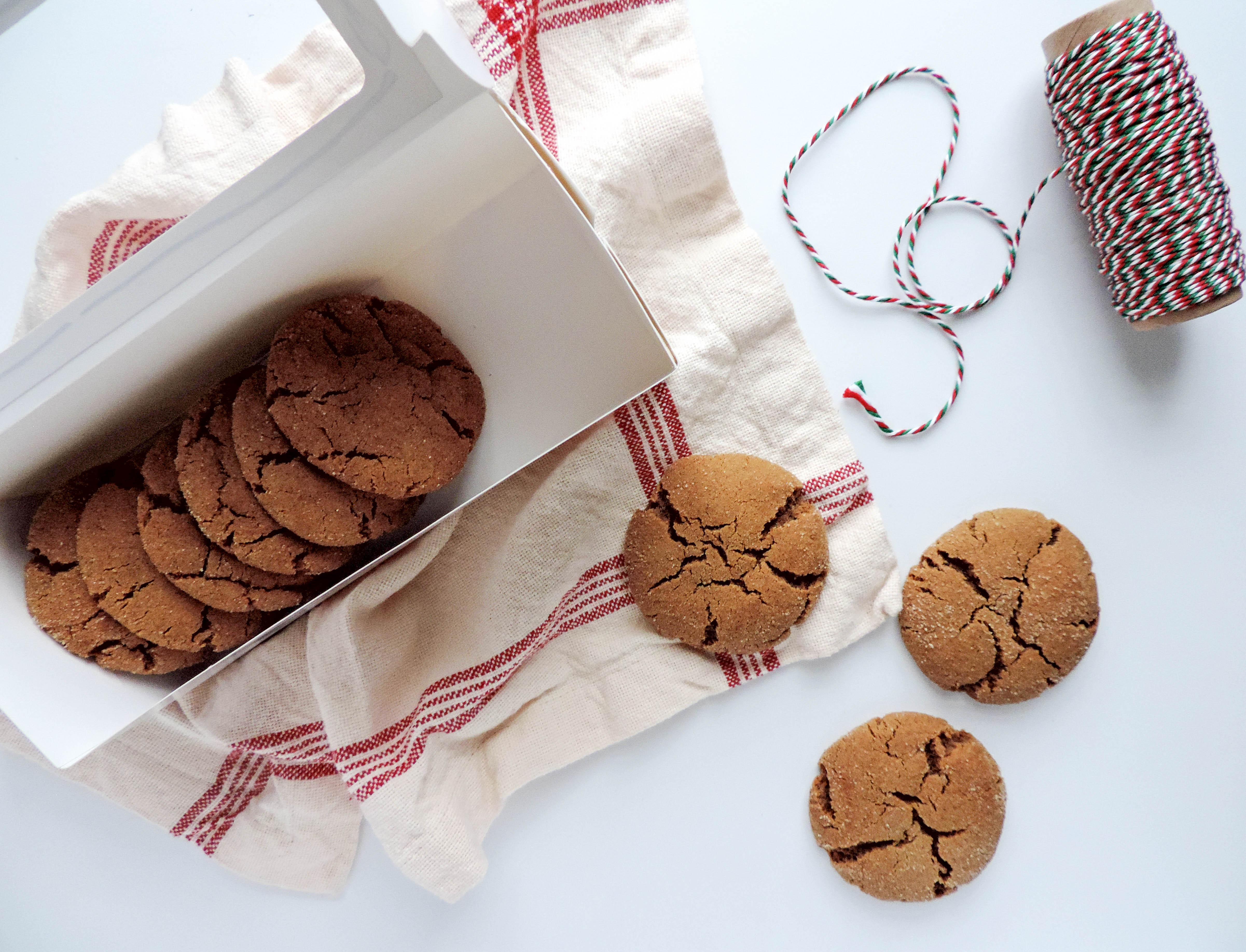 Molasses Cookies- Boston Chic Party-1