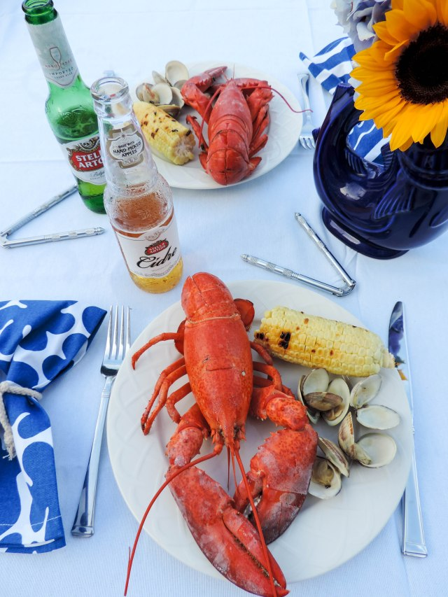 A Seafood Soiree with Stella Artois and Stella Cidre- Summer Entertaining Essentials- Dinner Party- Boston Chic Party-14