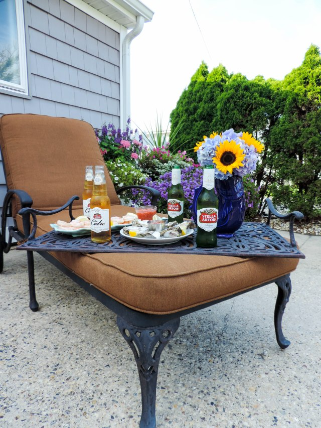 A Seafood Soiree with Stella Artois and Stella Cidre- Summer Entertaining Essentials- Dinner Party- Boston Chic Party-3
