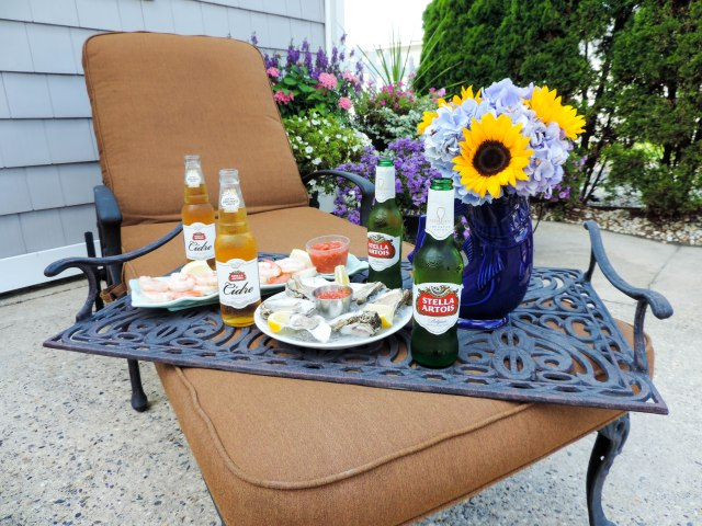 A Seafood Soiree with Stella Artois and Stella Cidre- Summer Entertaining Essentials- Dinner Party- Boston Chic Party-4
