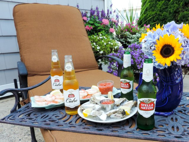 A Seafood Soiree with Stella Artois and Stella Cidre- Summer Entertaining Essentials- Dinner Party- Boston Chic Party-5