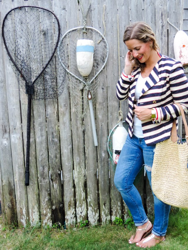 cabi on Cape Cod- Nautical Summer Style- Summer Fashion- Boston Chic Party-1