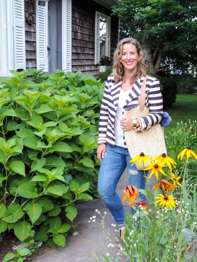 cabi on Cape Cod- Nautical Summer Style- Summer Fashion- Boston Chic Party-9
