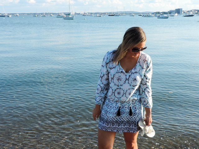 Last Summer Beach Weekend with Green Dragon- Green Dragon Coverup- Coverup dress- Boston Chic Party-2