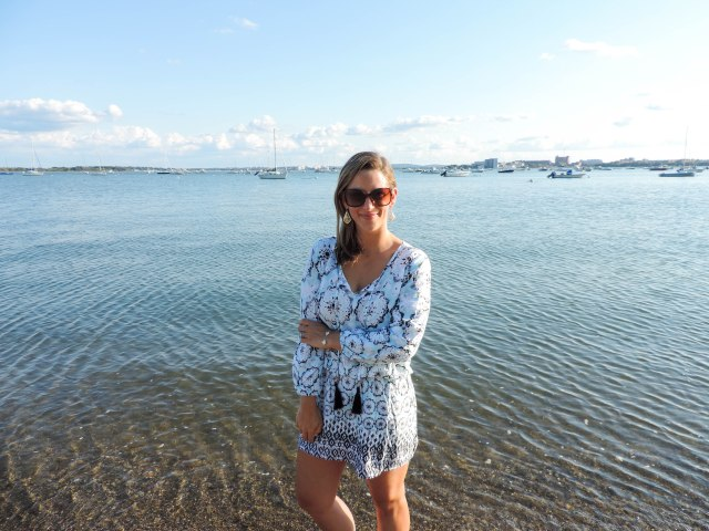 Last Summer Beach Weekend with Green Dragon- Green Dragon Coverup- Coverup dress- Boston Chic Party-7