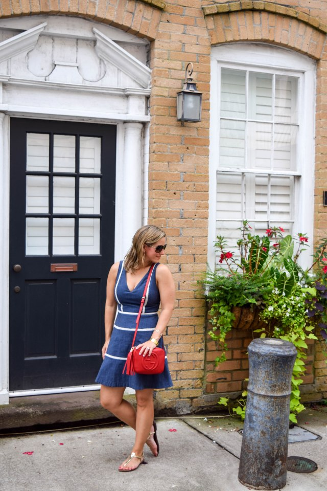 denim-dress-in-charleston-erin-fetherston-rent-the-runway-red-gucci-bag-boston-chic-party-2