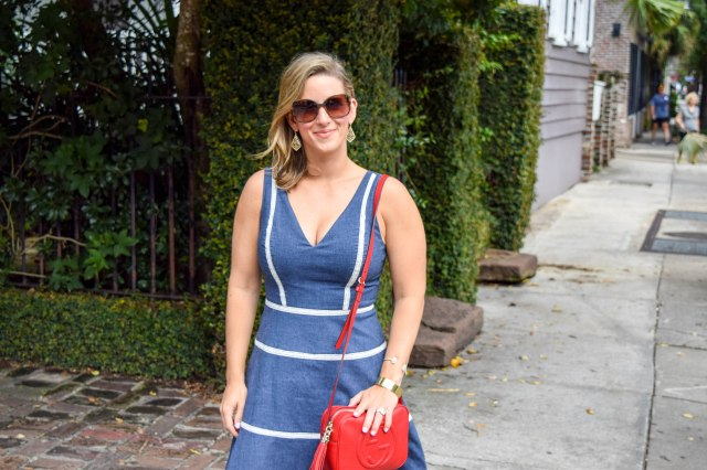 denim-dress-in-charleston-erin-fetherston-rent-the-runway-red-gucci-bag-boston-chic-party-8