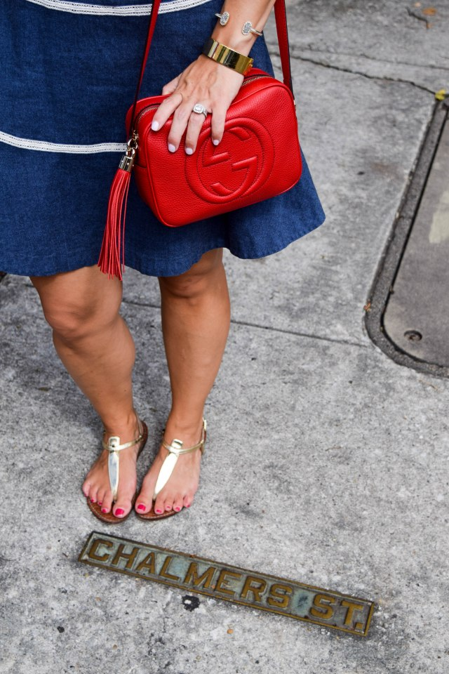 denim-dress-in-charleston-erin-fetherston-rent-the-runway-red-gucci-bag-boston-chic-party-9